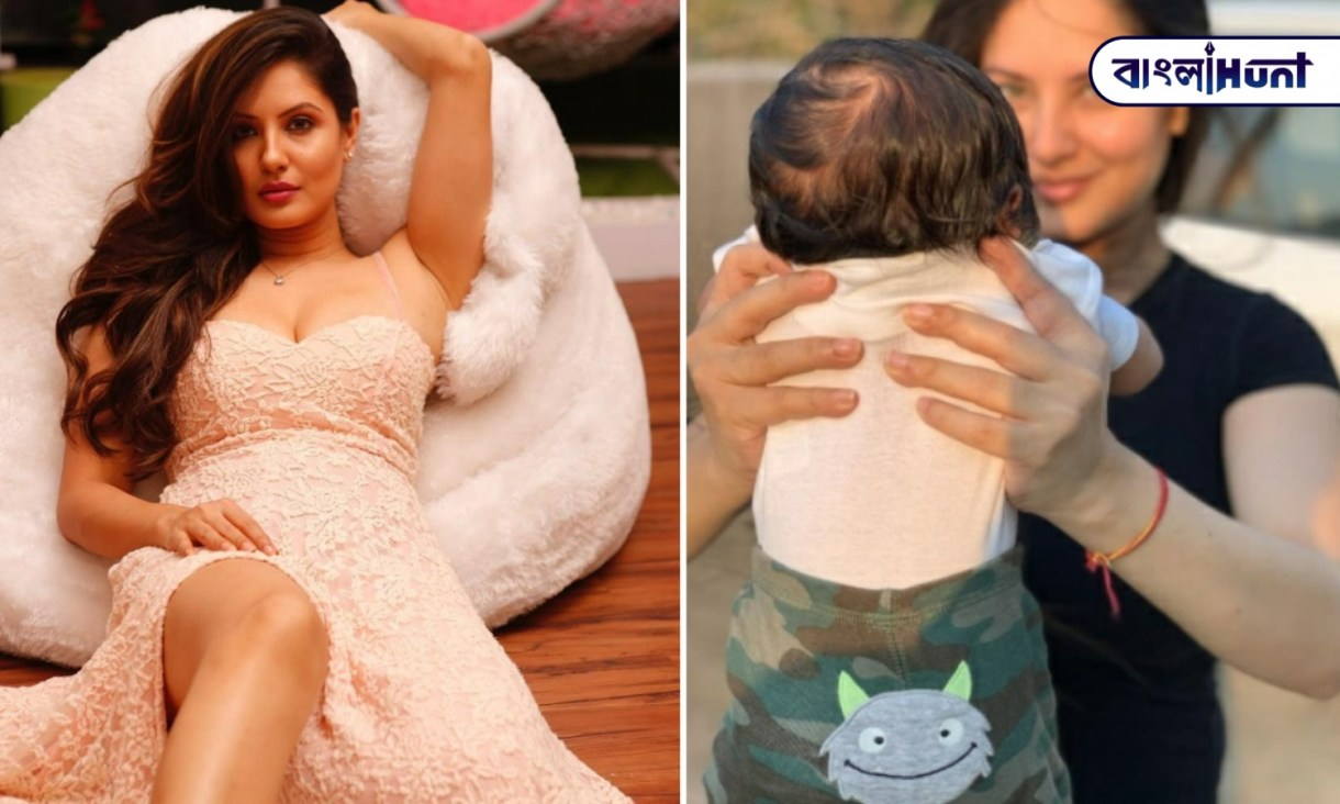 Puja has given the name of his son KRISHIV VERMA