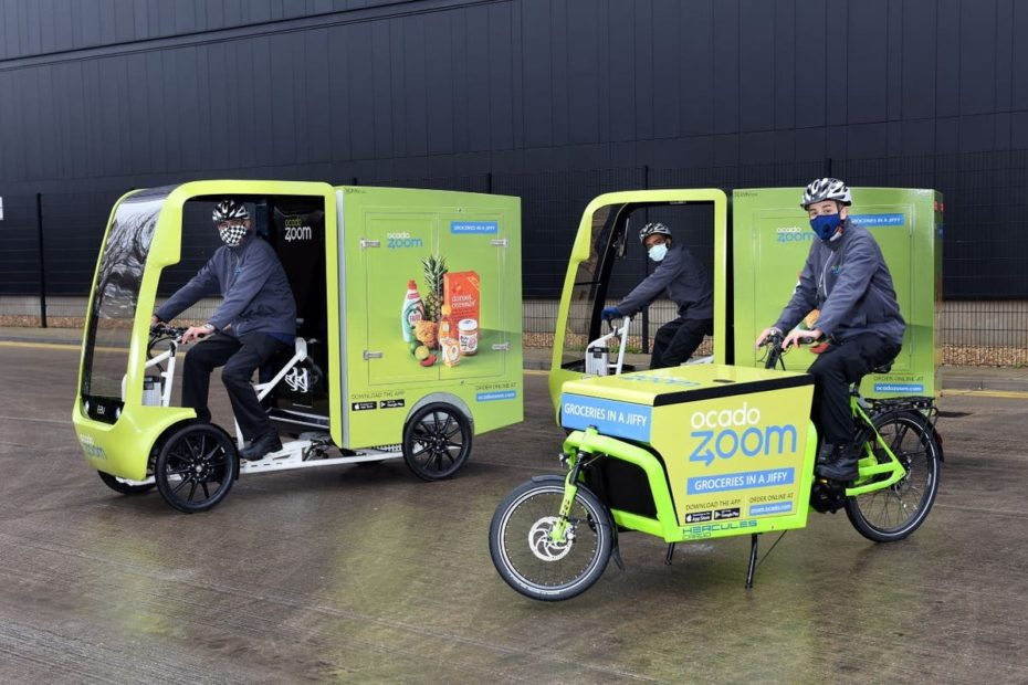 'Ocado Zoom' same-day grocery service set to expand in London, with new sites sought