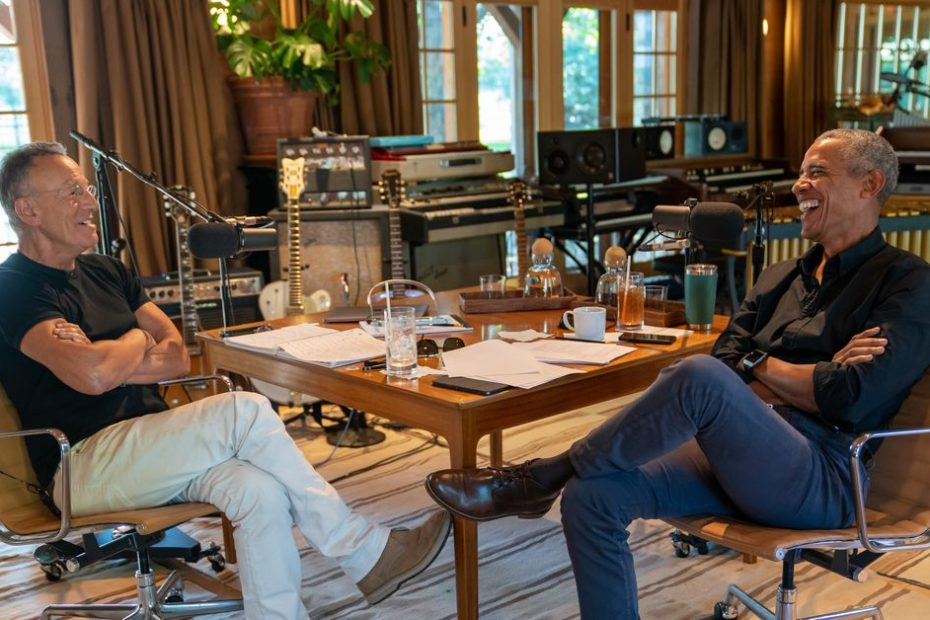 Barack Obama and Bruce Springsteen co-host Renegades: Born in the USA, a Spotify-exclusive podcast