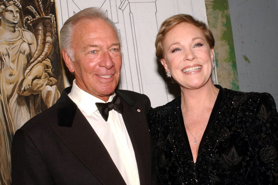 <p>Christopher Plummer and his Sound of Music co-star Julie Andrews </p>