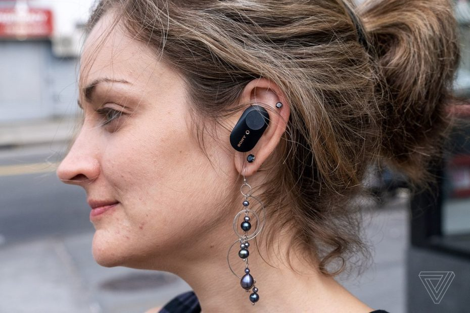This leak shows that Sony's noise-canceling earbuds could fit in your ears better