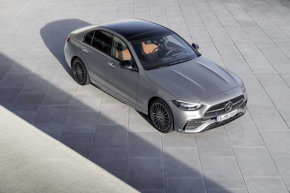 C-Class-like electric sedan likely to be based on Mercedes' second EV platform