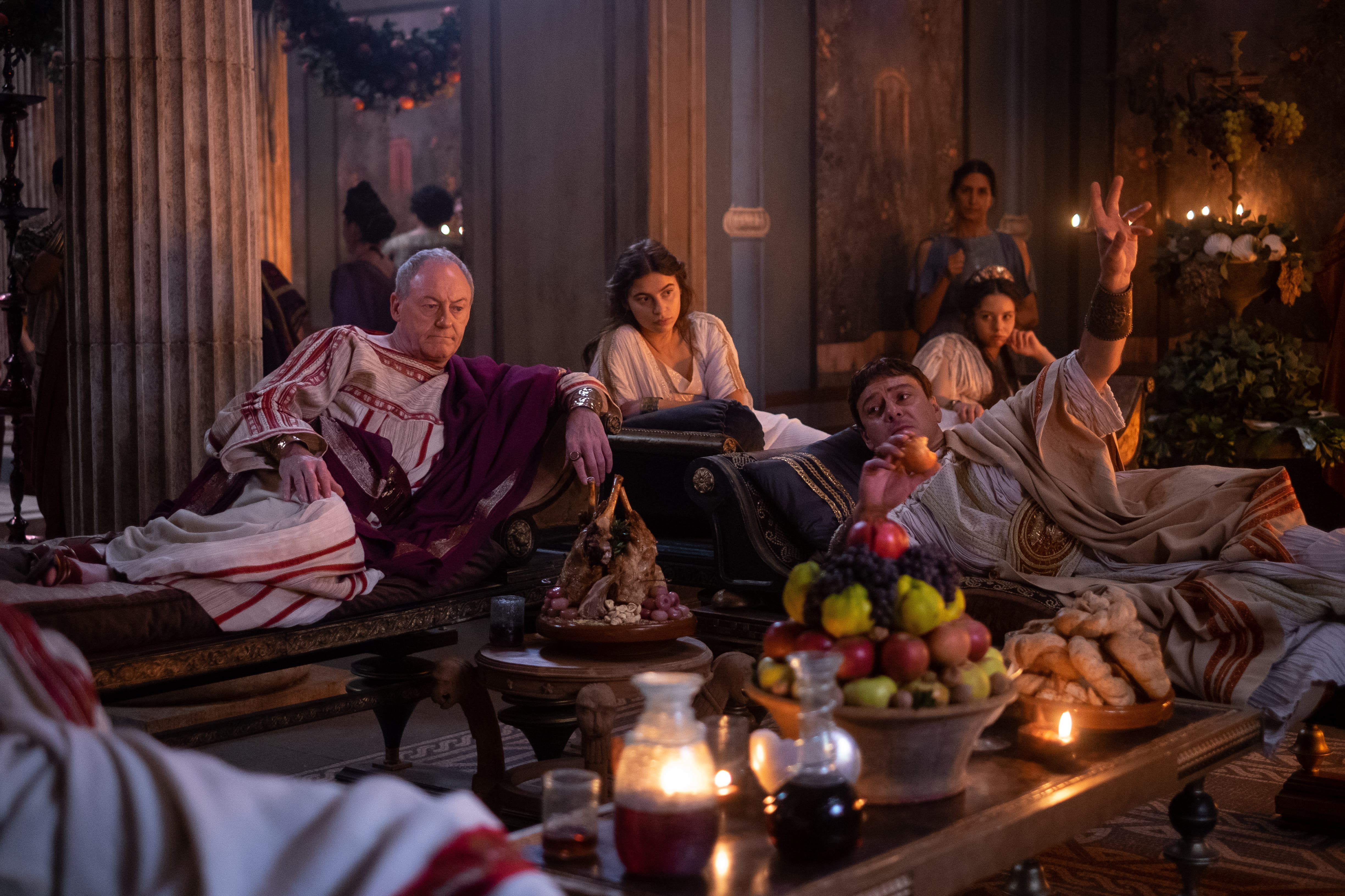 <p>Livia's father and husband found themselves on the losing side in a civil war</p>