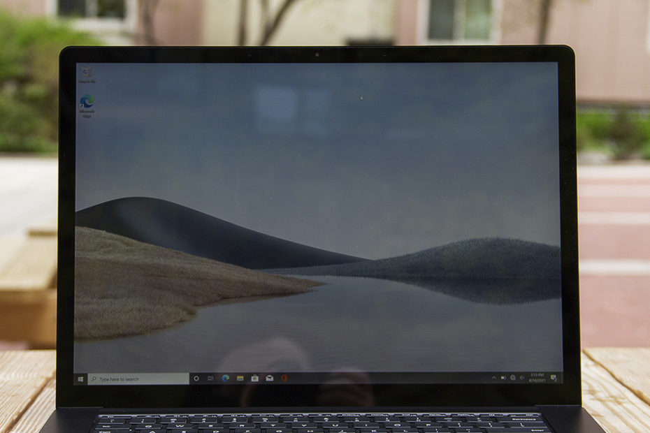 Microsoft Surface Laptop 4 15-inch review: big screen, big battery life