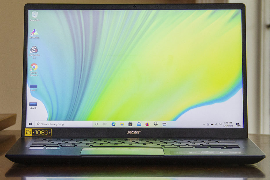 Acer Swift 3X review: not quite swift enough