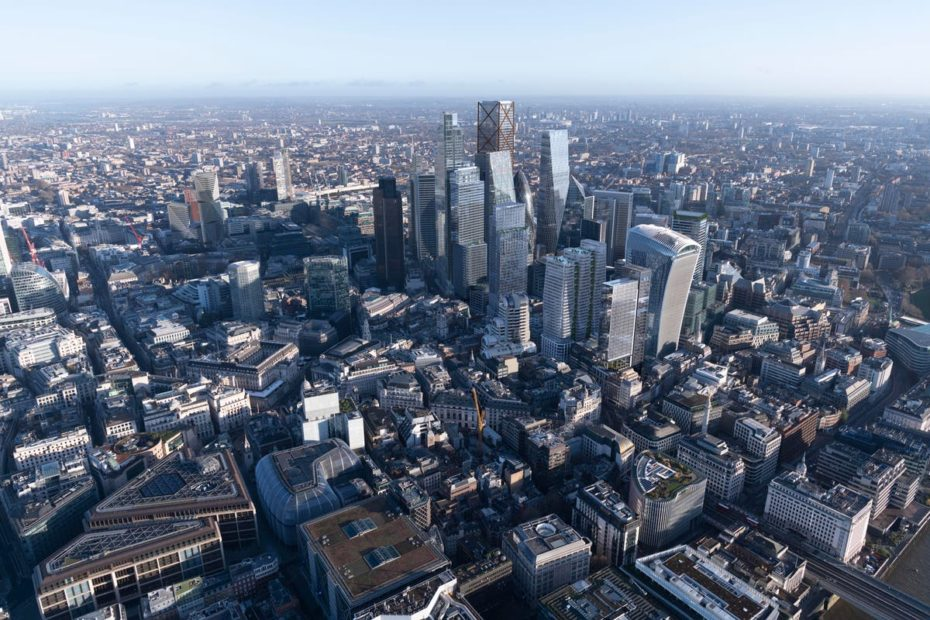 Tall towers & flexible offices: What the Square Mile skyline will look like