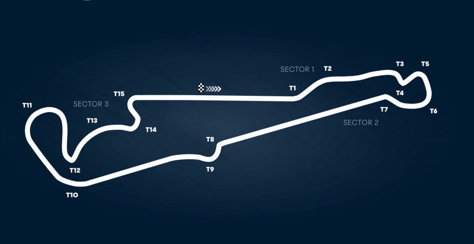 Circuit Paul Ricard, home of the Formula One French Grand Prix
