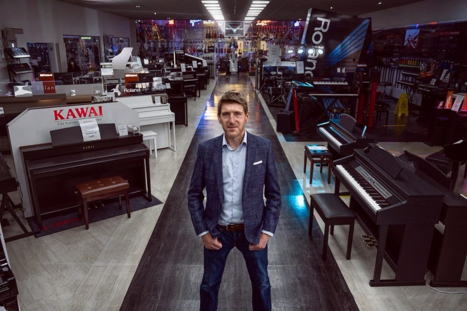Gear4Music founder-CEO Andrew Wass talks expansion as online retailer reports 2020 profits boom